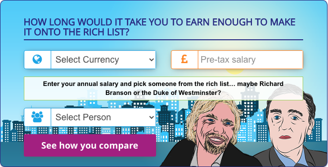 Rich List Calculator